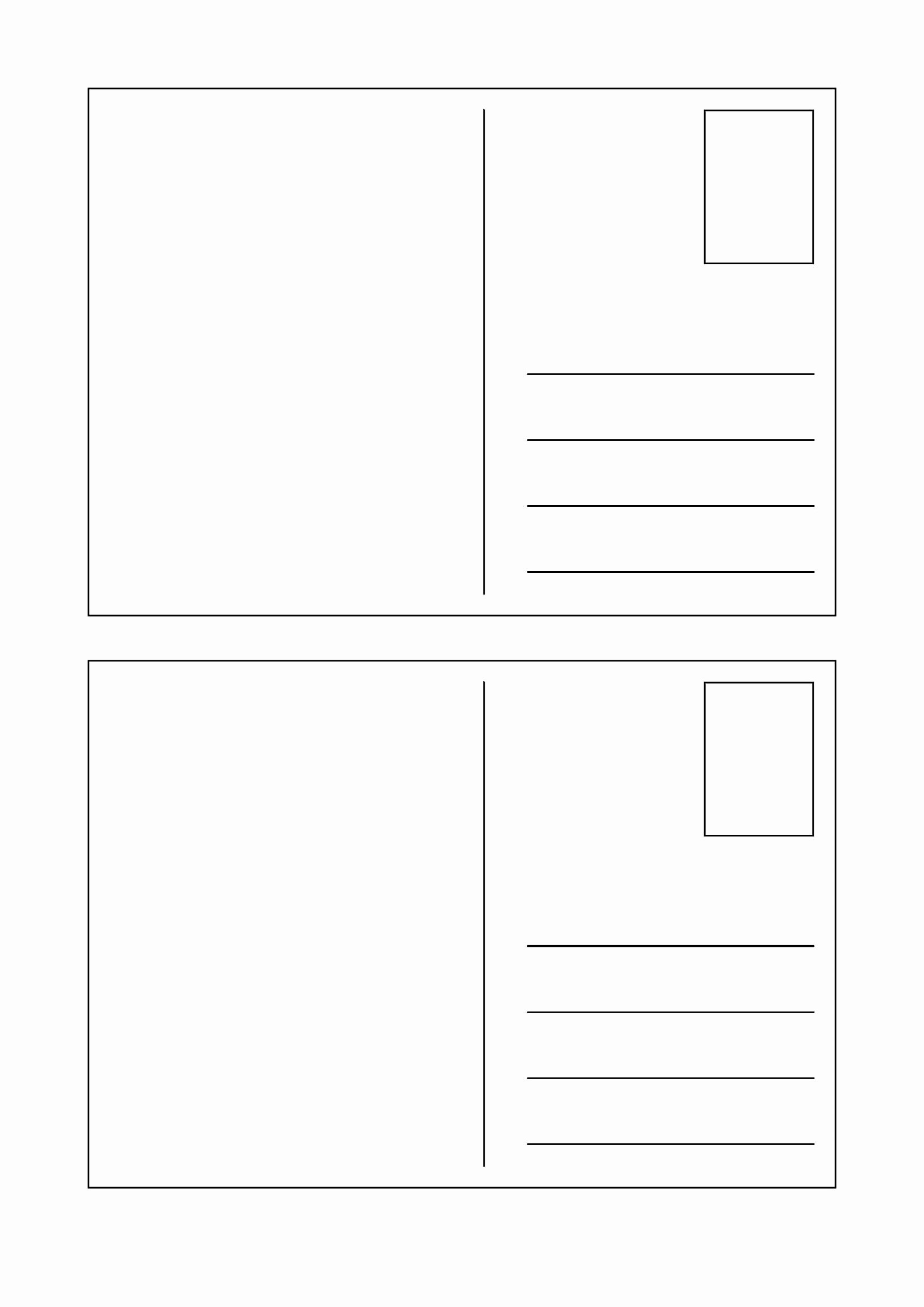 Postcard Template for Kids Best Of Free and Printable Templates for Kids