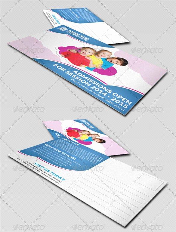 Postcard Template for Kids Inspirational 20 Postcard Templates for Kids – Free Sample Example