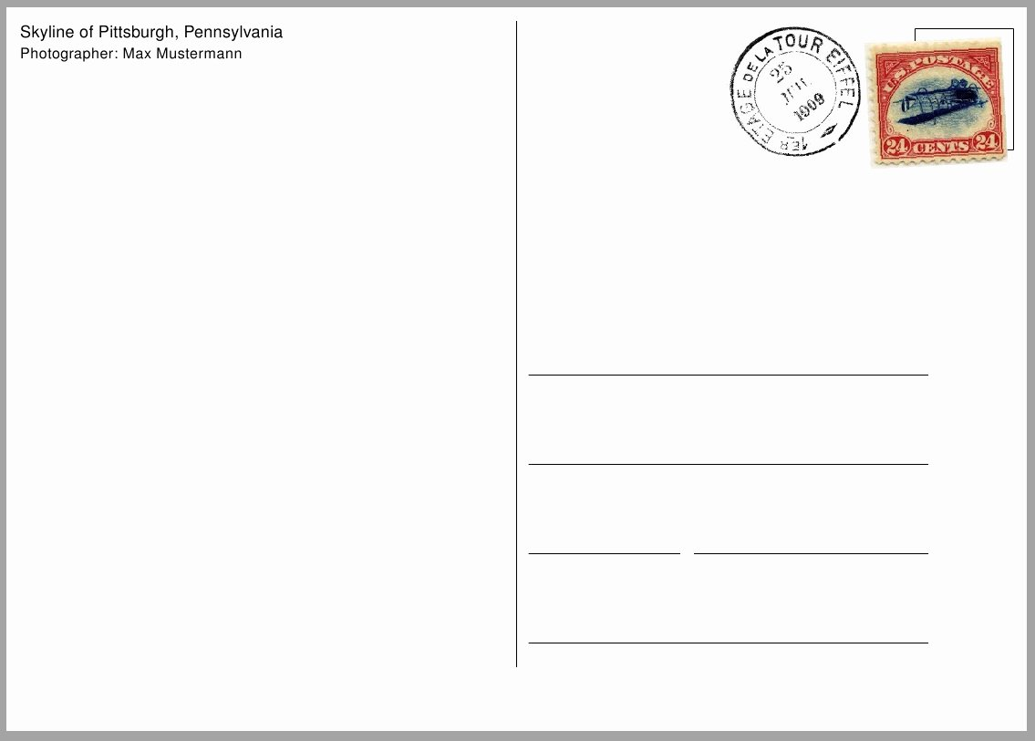 Postcard Template for Kids Inspirational 9 Best Of Postcard Design Templates Business