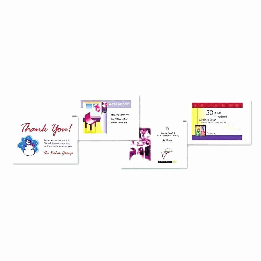 Postcard Template for Word Fresh New Avery Postcard Template 8387 for Word