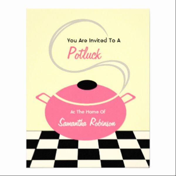 Potluck Invitation Template Free Elegant 13 Potluck Email Invitation Templates Psd Ai