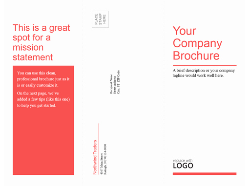 Power Point Brochure Template New Brochures Fice