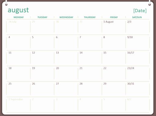 Powerpoint 2016 Calendar Template Beautiful Powerpoint Calendar Template 2016 Bountrfo