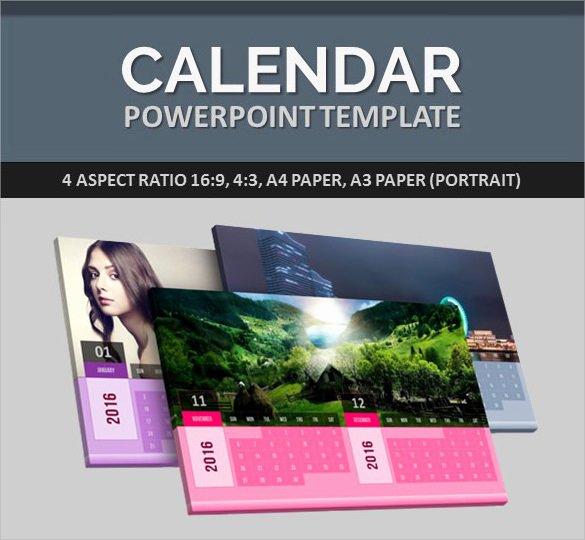 Powerpoint 2016 Calendar Template Best Of 9 Power Point Calendar Templates – Samples Examples