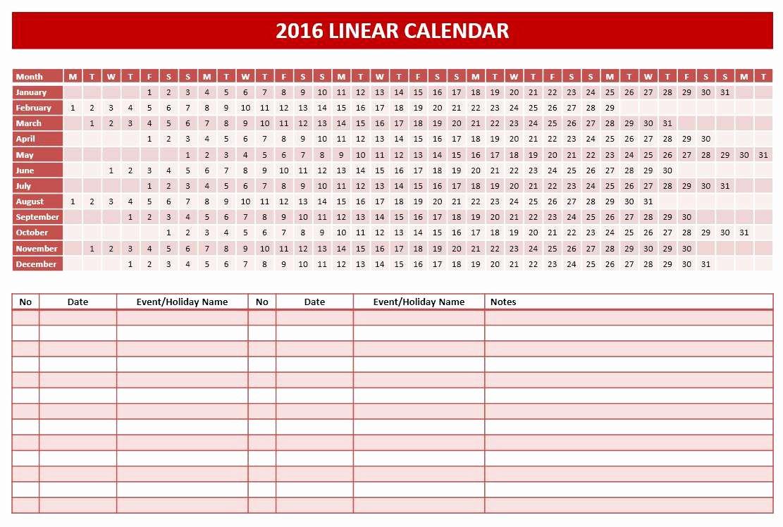 Powerpoint 2016 Calendar Template New 2016 Calendar Templates