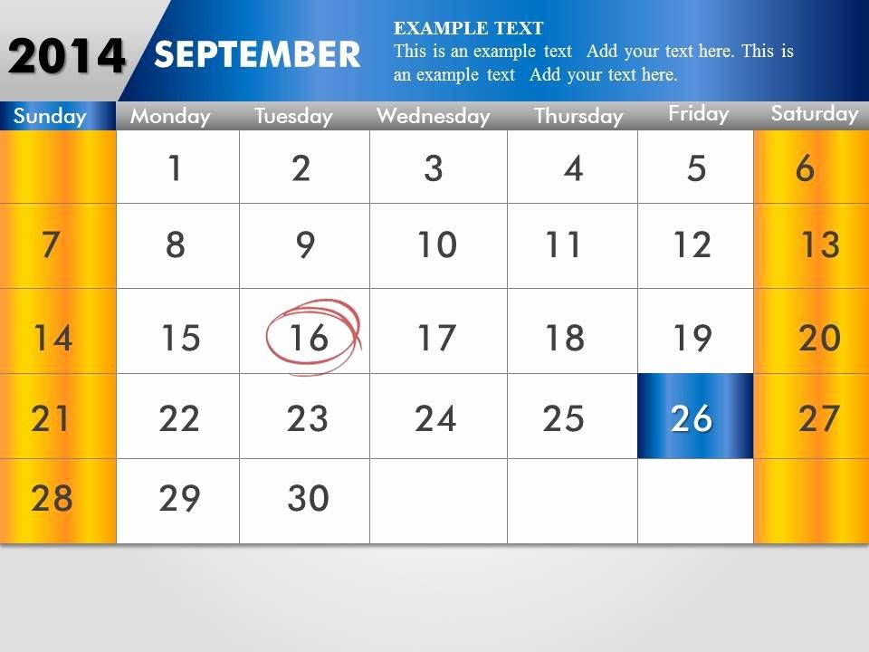 Powerpoint 2016 Calendar Template Unique Powerpoint Calendar Templates