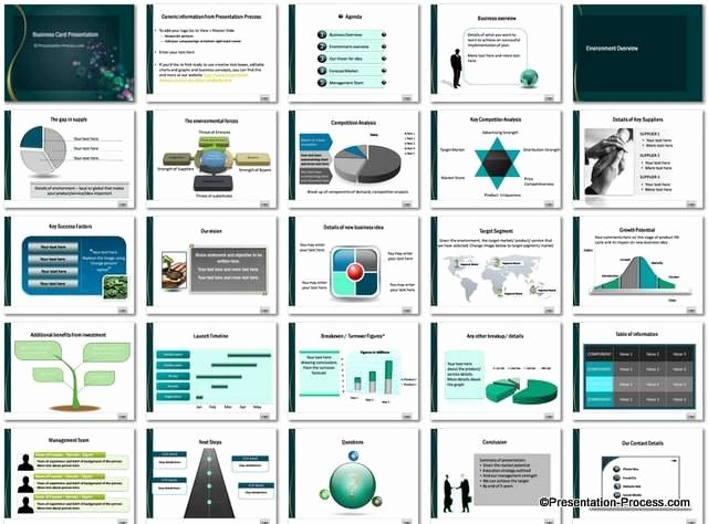 Powerpoint Business Card Template Beautiful Free Business Plan Template Ppt Cpanjfo
