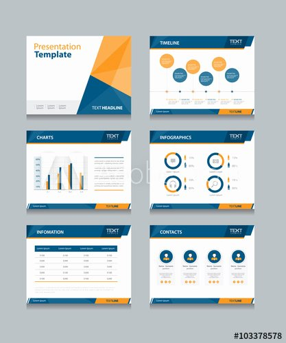 Powerpoint Business Cards Template Inspirational Business Presentation Template Set Powerpoint Template