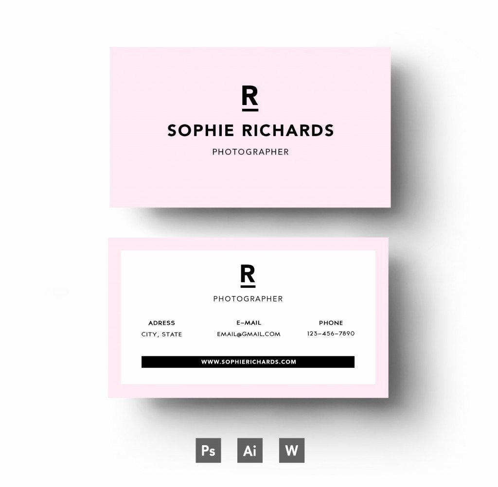 Powerpoint Business Cards Template Luxury 20 Examples Of A Stylish Business Card Shop Template