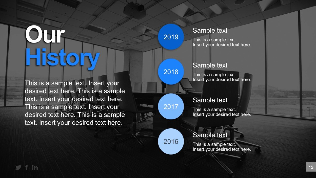Powerpoint Business Plan Template Best Of Business History Timeline Powerpoint Templates Slidemodel