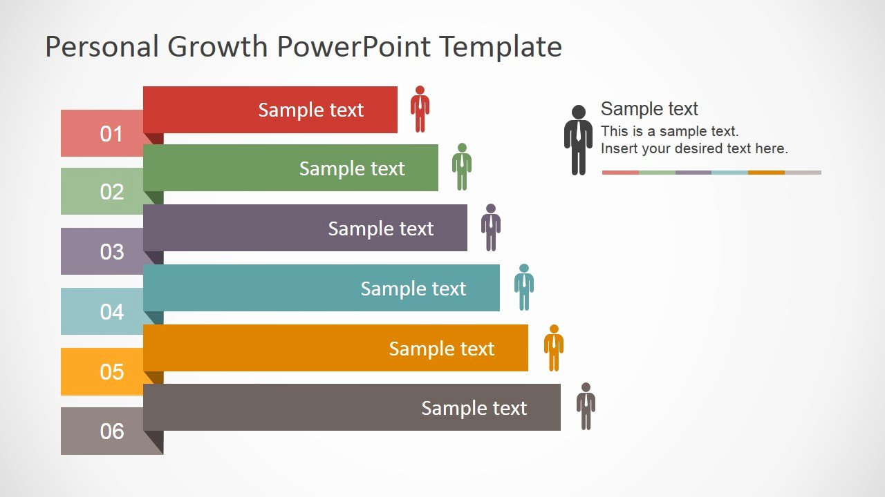 Powerpoint Business Plan Template Inspirational Personal Growth Plan Outline for Powerpoint Slidemodel