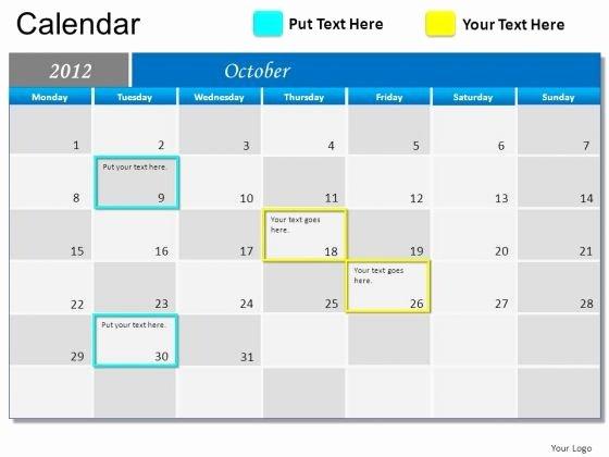 Powerpoint Calendar Template 2017 Inspirational Powerpoint Calendar Template