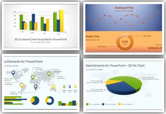 Powerpoint Dashboard Template Free Unique High Quality Charts & Dashboard Powerpoint Templates for