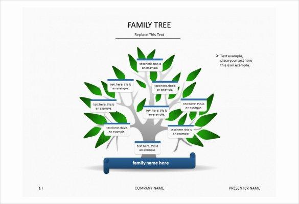 Powerpoint Family Tree Template Elegant 7 Powerpoint Family Tree Templates