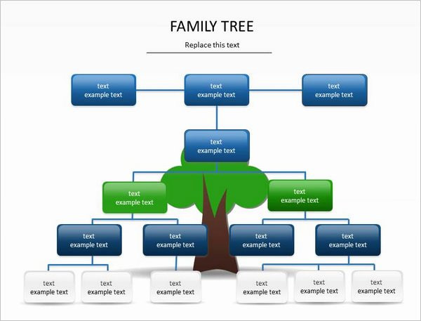 Powerpoint Family Tree Template Fresh 7 Powerpoint Family Tree Templates