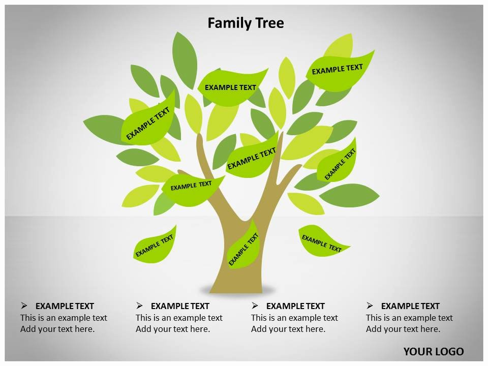 Powerpoint Family Tree Template Lovely Best S Of Free Tree Powerpoint Template Powerpoint