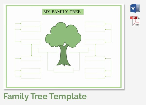 Powerpoint Family Tree Template Luxury Family Tree Template 37 Free Printable Word Excel Pdf