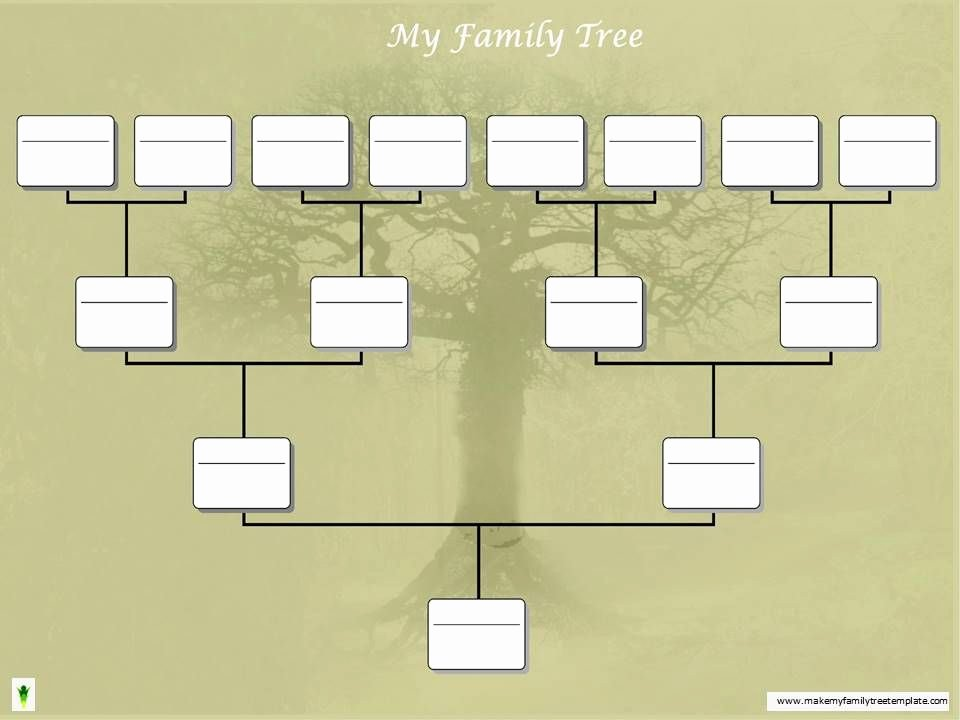 Powerpoint Family Tree Template New Family Tree Chart Art and Crafts Pinterest
