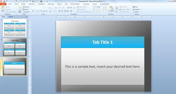 Powerpoint Flash Cards Template Lovely Free Flash Card Template for Powerpoint