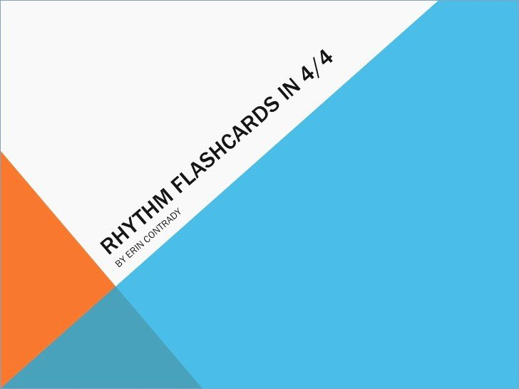 Powerpoint Flash Cards Template New Rhythm Flashcards Powerpoint – Pontybistrogramercy