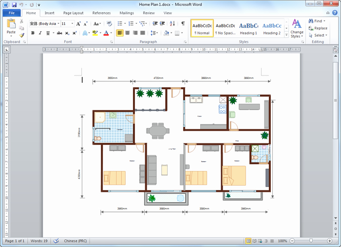 Powerpoint Floor Plan Template Elegant Create Floor Plan for Word