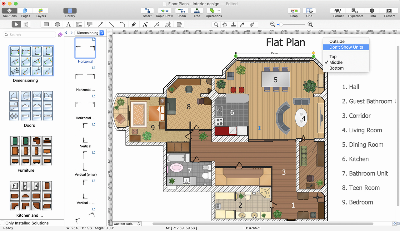 Powerpoint Floor Plan Template Inspirational Powerpoint Presentation Of A Floor Plan