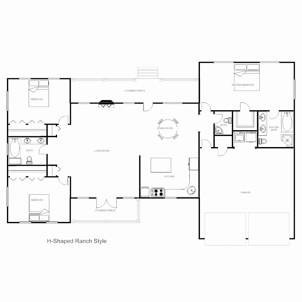 Powerpoint Floor Plan Template Unique Floor Plan Templates Draw Floor Plans Easily with Templates