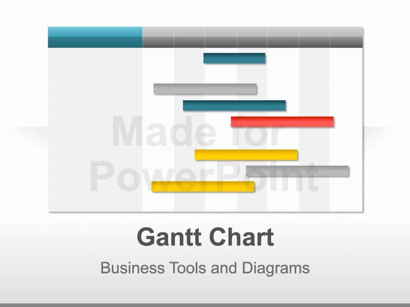 Powerpoint Gantt Chart Template Best Of Gantt Chart Template for Powerpoint Presentations