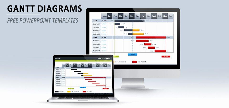 Powerpoint Gantt Chart Template Unique Best Gantt Chart Templates Excel Ppt & Google