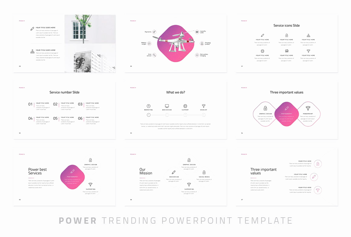 Powerpoint Photo Album Template Beautiful Power Modern Powerpoint Template Just Free Slides