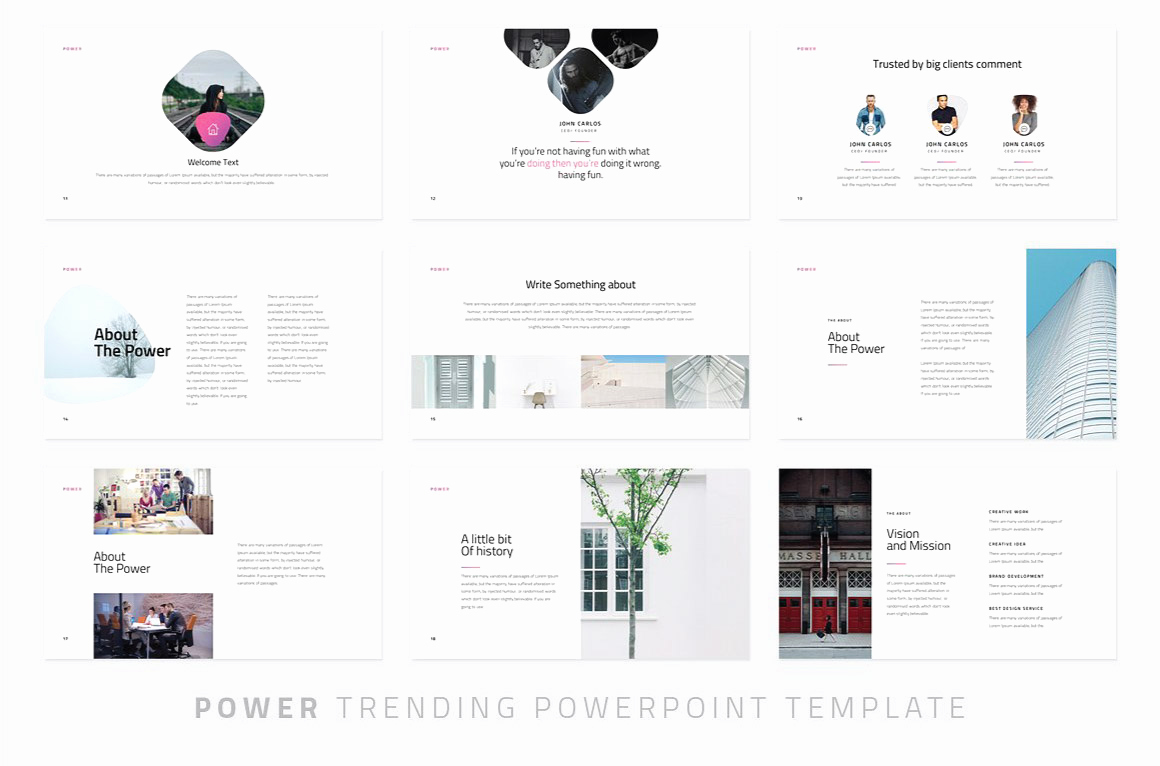 Powerpoint Photo Album Template Lovely Power Modern Powerpoint Template Just Free Slides