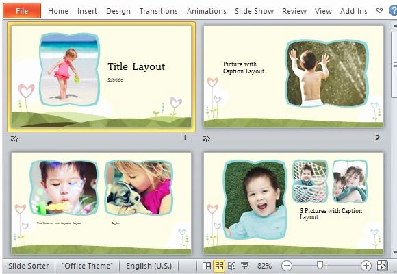 Powerpoint Photo Album Template Unique Powerpoint Album Template