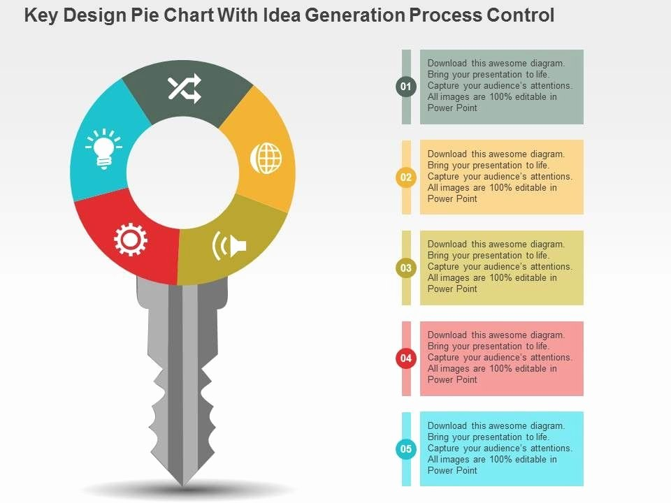 Powerpoint Pie Chart Template Beautiful Creative Graph Layout