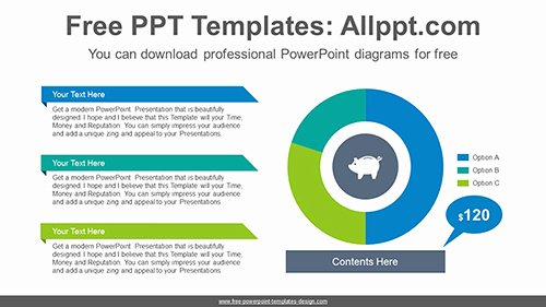 Powerpoint Pie Chart Template Best Of Donut Pie Chart Powerpoint Diagram Template