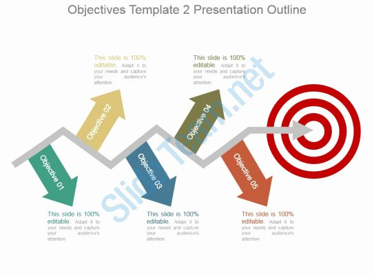 Powerpoint Presentation Outline Template Beautiful Objectives Template 2 Presentation Outline