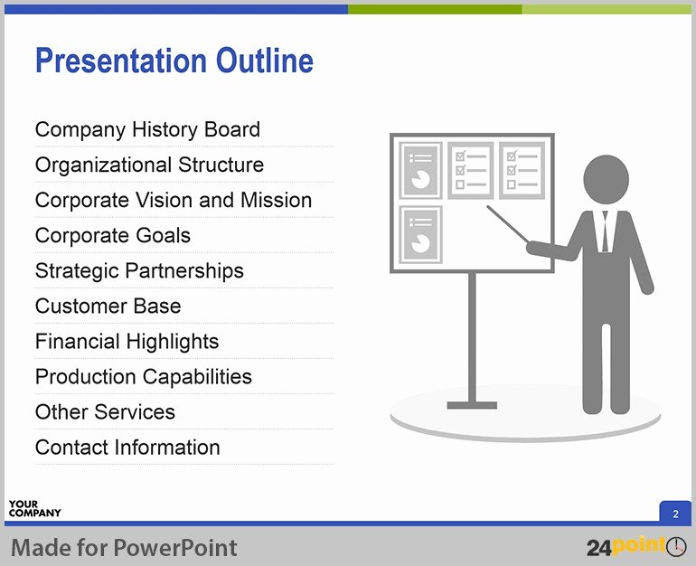 Powerpoint Presentation Outline Template Best Of Creating Successful Corporate Profile Powerpoint