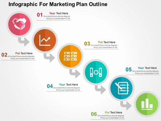 Powerpoint Presentation Outline Template Inspirational Market Presentation Template Infographic for Marketing