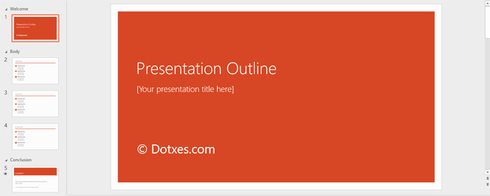 Powerpoint Presentation Outline Template Unique Presentation Outline Template 19 formats for Ppt Word