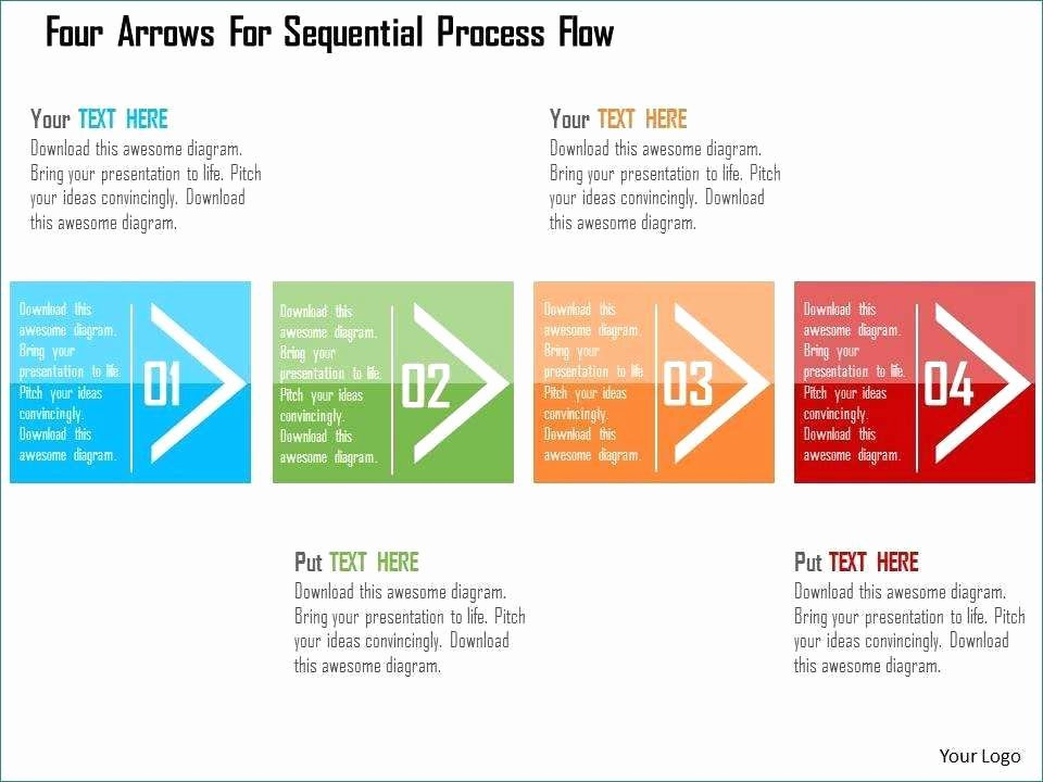 Powerpoint Process Flow Template Best Of Powerpoint Process Flow Templates Prodigous Four Arrows