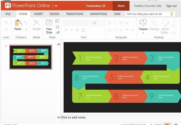 Powerpoint Process Flow Template Unique Process Flow Diagram Infographic Template for Powerpoint