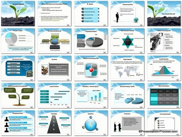 Ppt Business Plan Template Awesome Business Ambition Powerpoint Template