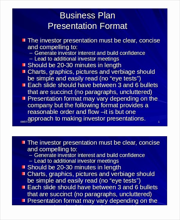 Ppt Business Plan Template Beautiful Sample Business Presentation 7 Documents In Ppt