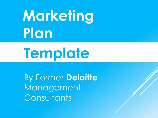 Ppt Business Plan Template Fresh Marketing Plan Template In Powerpoint
