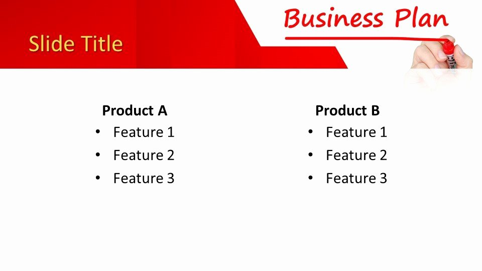 Ppt Business Plan Template Inspirational Free Business Plan Powerpoint Template Free Powerpoint