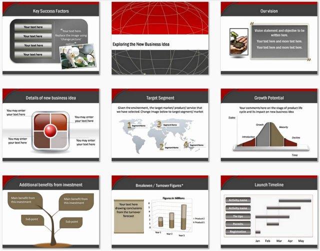Ppt Business Plan Template Unique Powerpoint Business Plan Blueprint Template