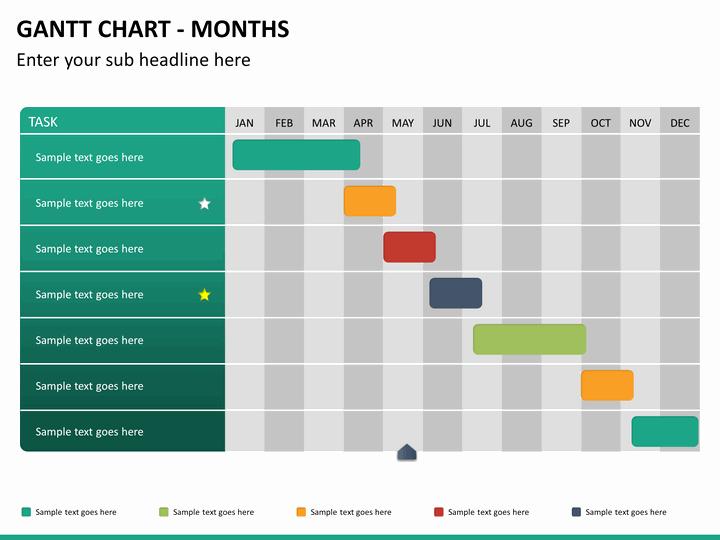 Ppt Gantt Chart Template Awesome Gantt Chart Powerpoint Template