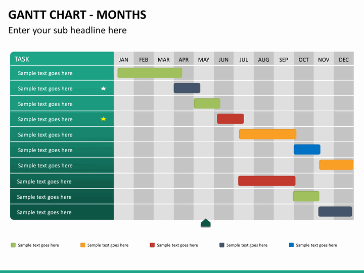 Ppt Gantt Chart Template Elegant Gantt Chart Powerpoint Template