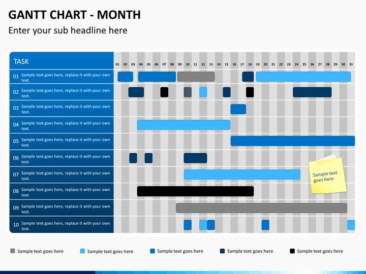 Ppt Gantt Chart Template Inspirational Gantt Chart Powerpoint Template