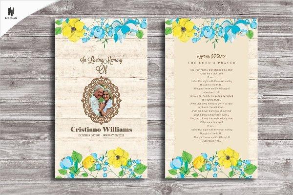 Prayer Card Template Free Inspirational 15 Funeral Card Templates Free Psd Ai Eps format