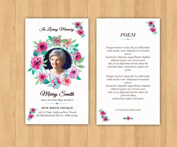 Prayer Card Template Free Lovely Funeral Prayer Card Template Editable Ms Word & Shop